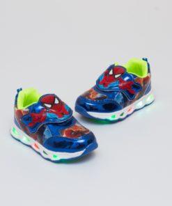 adidas spider man albastru cu led 1