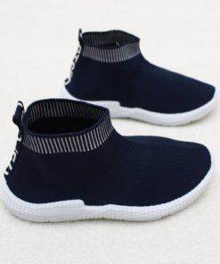 sneakers soseta bleumarin copii