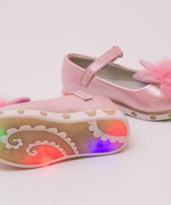 balerini roz cu led