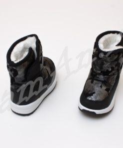 cizme negre impermeabile