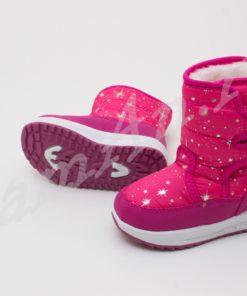 cizme roz iarna