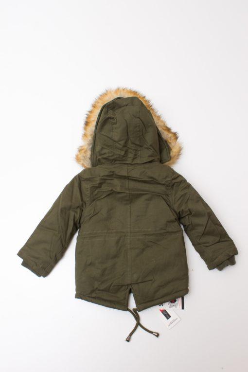 jacheta verde copii