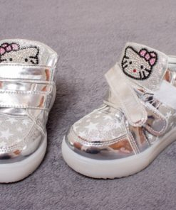 ghete hello kitty cu led