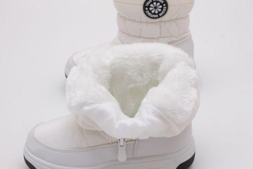cizme albe