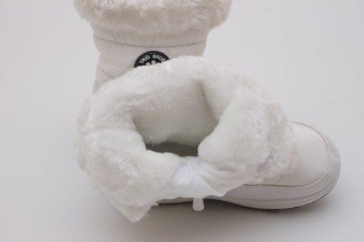 cizme albe copii
