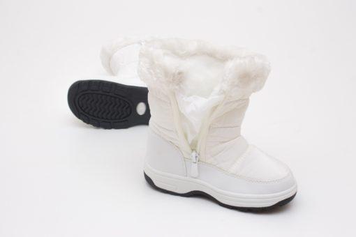 cizme albe imblanite