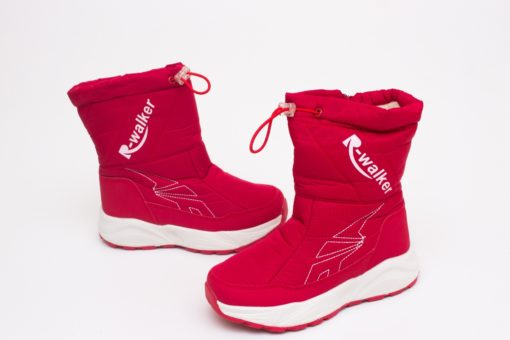 cizme rosii iarna