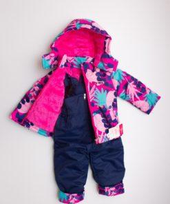 costum roz schi pentru copii