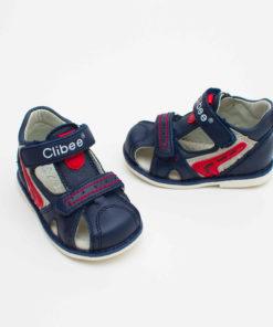 sandale din piele pentru copii