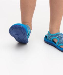 sandale albastre panza copii