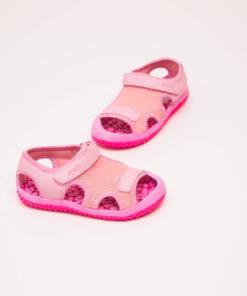 sandale roz cu arici pentru fete