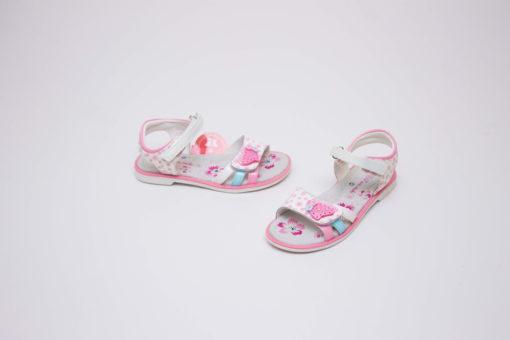 sandale roz elegante pentru fete