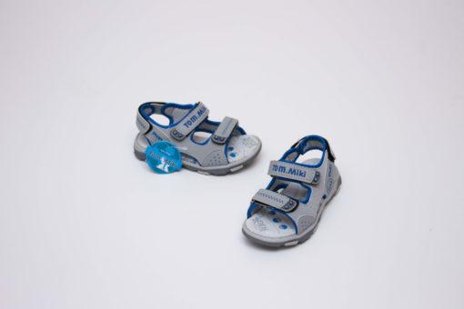 sandale sport gri pentru copii