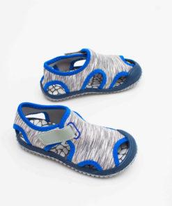 sandale usoare din panza pentru copii