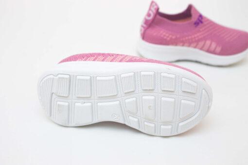 adidasi roz din panza pentru copii