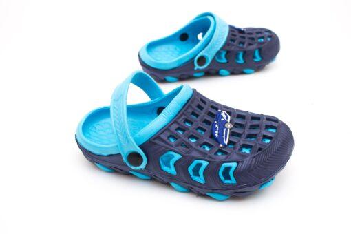 papuci crocs copii - blue