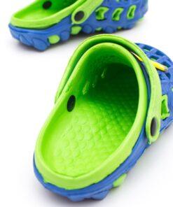 papuci crocs copii - verzi