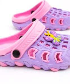 papuci crocs mov