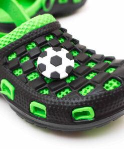 papuci copii spuma crocs verzi