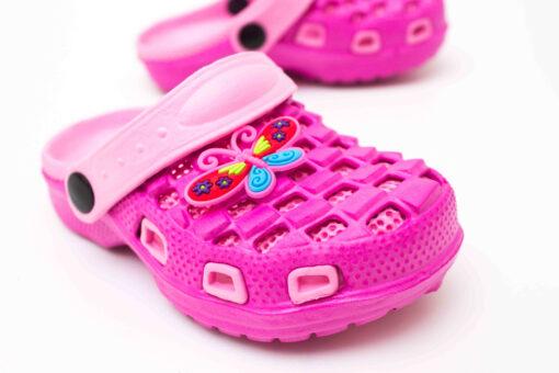papuci crocs roz