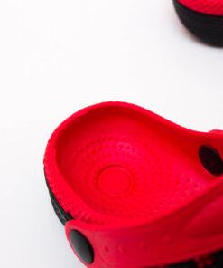papuci rosii copii - papuci spuma