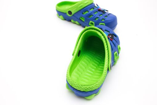 papuci verzi spuma pentru copii