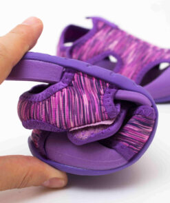 sandale copii confortabile mov