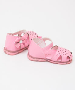 sandale roz cu leduri