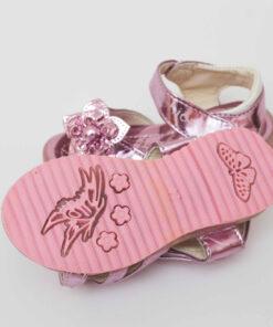sandale roz cu led-uri