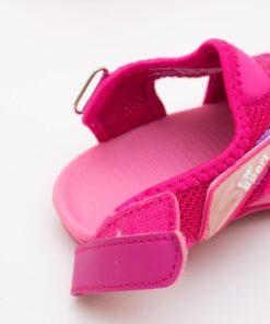 sandale pentru copii roz cu arici