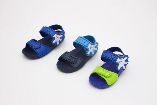 sandale spuma colorate pentru copii