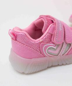 adidasi roz cu led pentru fete