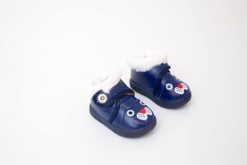 ghete albastre imblanite pentru bebe
