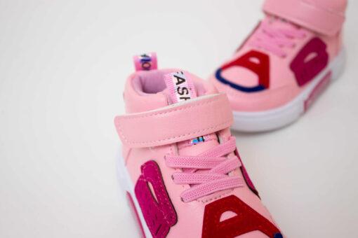 ghete multicolor pentru fete