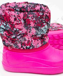 cizme roz din spuma