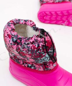 cizme roz din spuma pentru fete