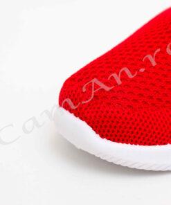 tenisi rosii micky pentru copii