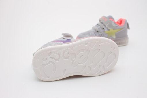 adidasi colorati cu led pentru fete