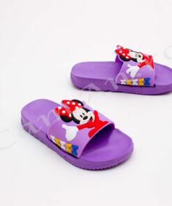 papuci mov pentru copii