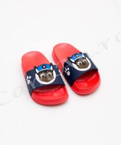 papuci rosii copii