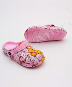 papuci roz copii