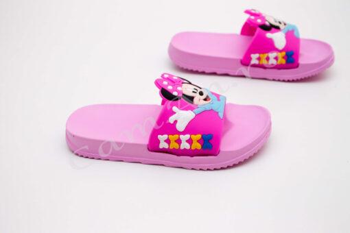 papuci roz pentru fete