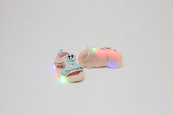sandale cu led pentru fete
